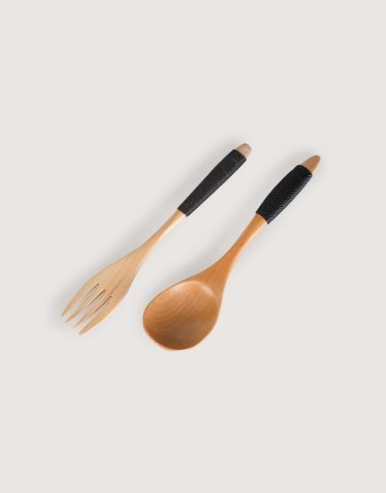 木製品 | 木湯匙 | 湯匙刀叉組 | 綁繩