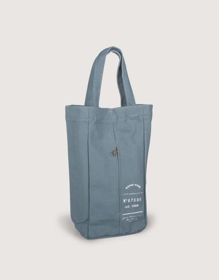 帆布紙巾抽 |  藍灰色 | 工業風面紙盒
