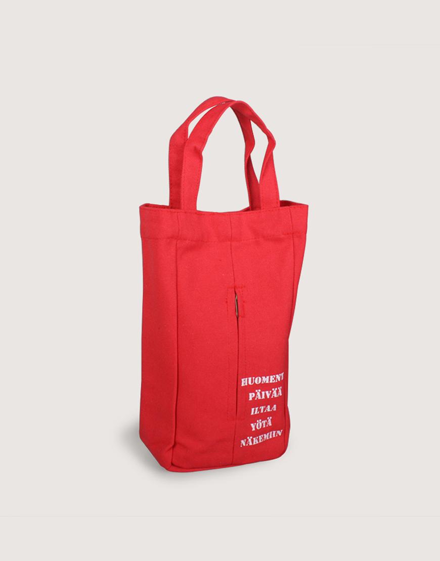 帆布紙巾抽    紅色   工業風面紙盒