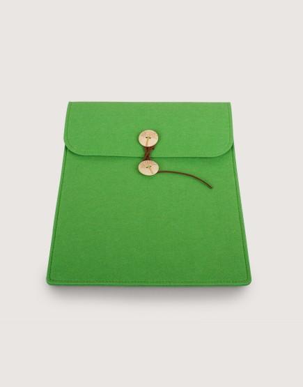 羊毛氈平板套 | 直式平板套 | 綠色