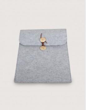 羊毛氈平板套   直式平板套   灰色