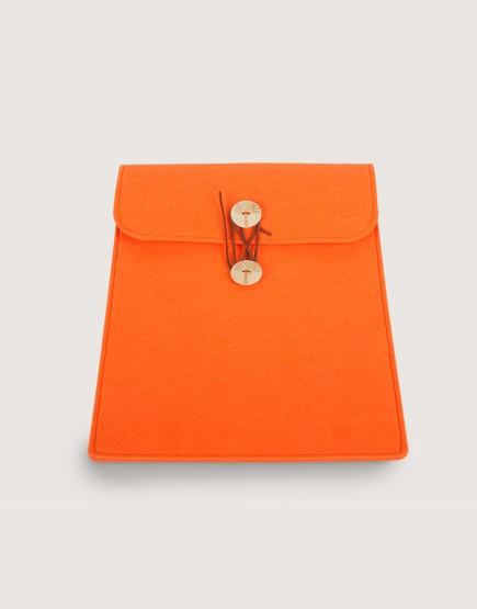 羊毛氈平板套 | 直式平板套 | 橘色