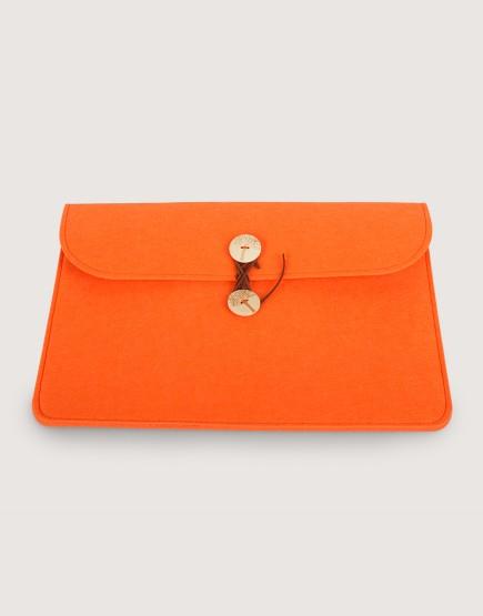 羊毛氈平板套 | 橫式平板套 | 橘色