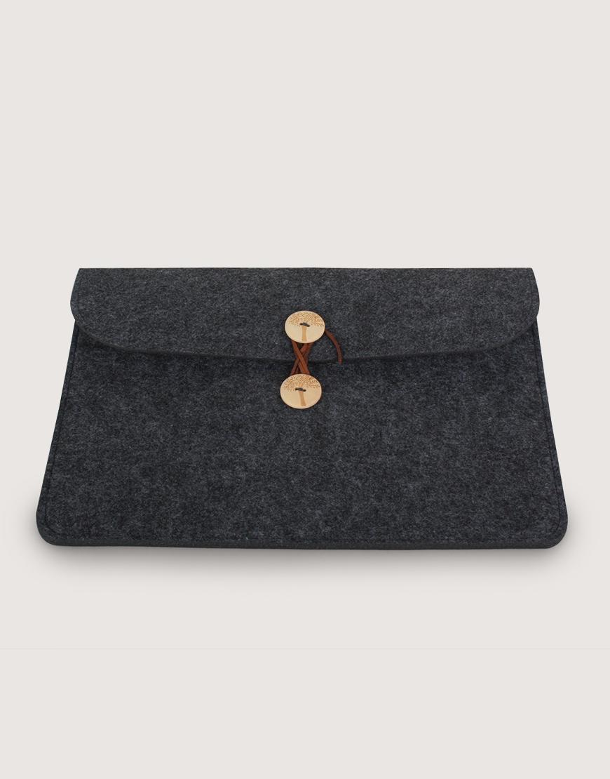 羊毛氈平板套   橫式平板套   深灰色