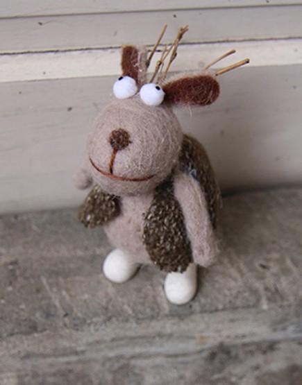 家飾擺設 | 玩偶 | 穿背心的麋鹿
