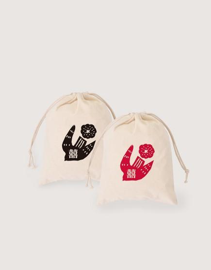 預購 棉布喜米袋│鳥 | 10入一組