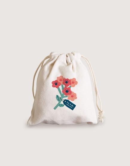 預購 帆布喜米袋│花束 | 10入一組