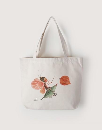 花鈴 | 帆布橫式袋