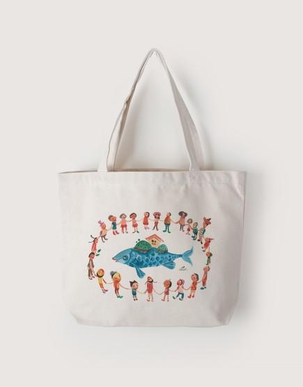 團結 | 帆布橫式袋