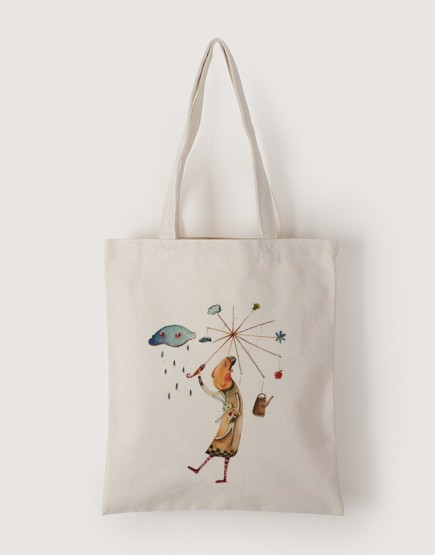 雨天 | 帆布直式袋