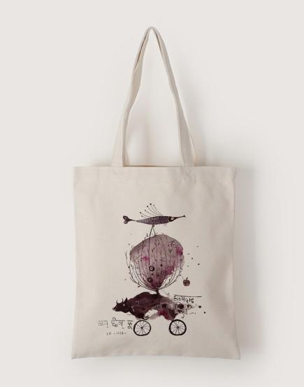 印度奇想 | 帆布直式袋