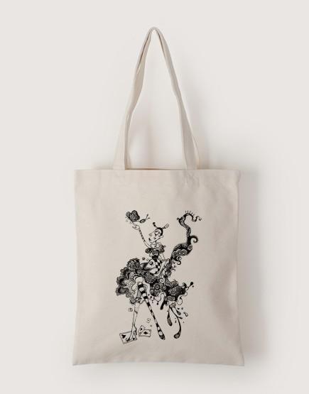 蝴蝶 | 帆布直式袋