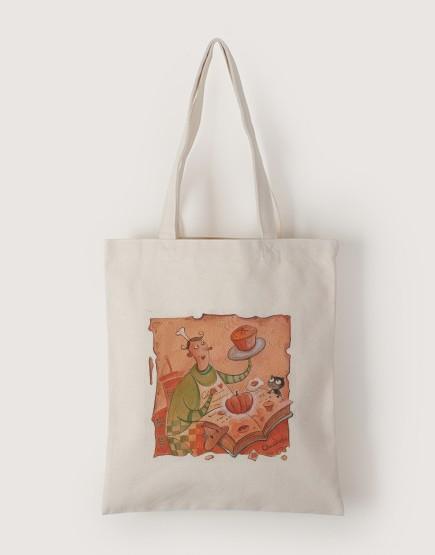 南瓜蛋糕 | 帆布直式袋