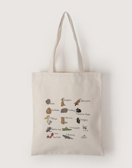 頑皮世界 | 帆布直式袋