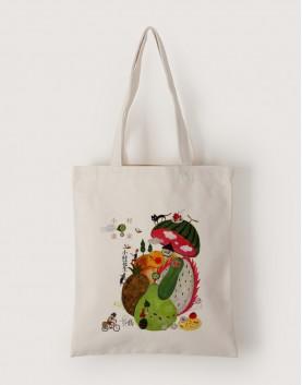 小村風景 | 帆布直式袋