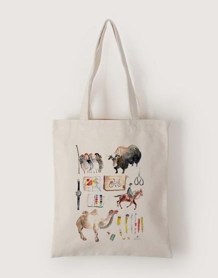 新疆遊學 | 帆布直式袋
