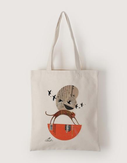甜甜的 | 帆布直式袋