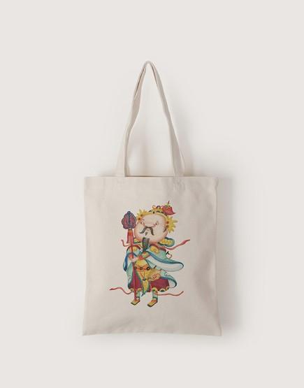 神明系列 | 帆布直式袋 | chien