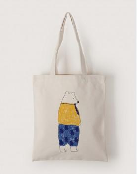 爸爸熊 | 帆布直式袋