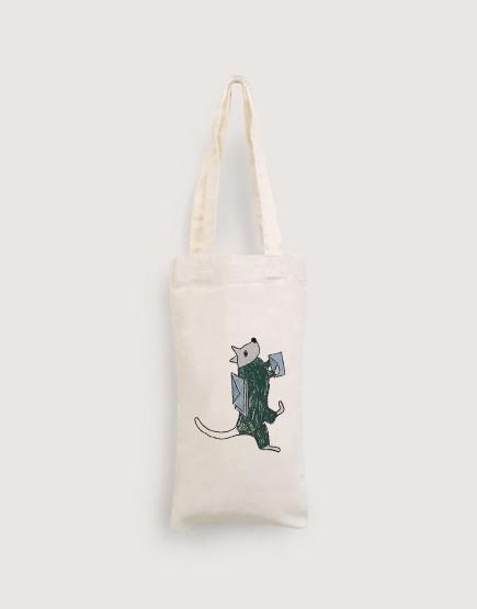 狗狗郵差 | 棉布小提袋