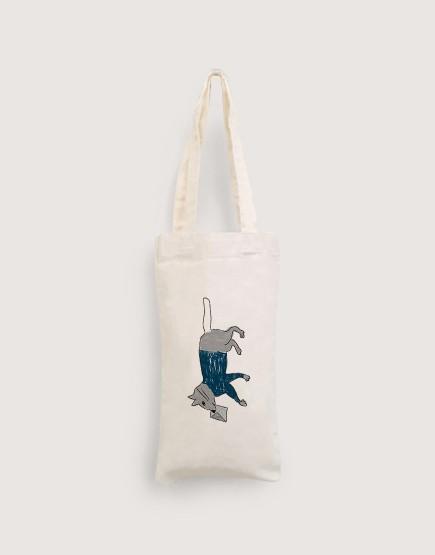 貓咪郵差 | 棉布小提袋