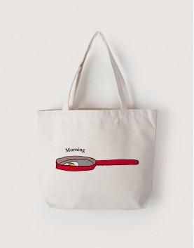 Morning Egg | 帆布橫式袋