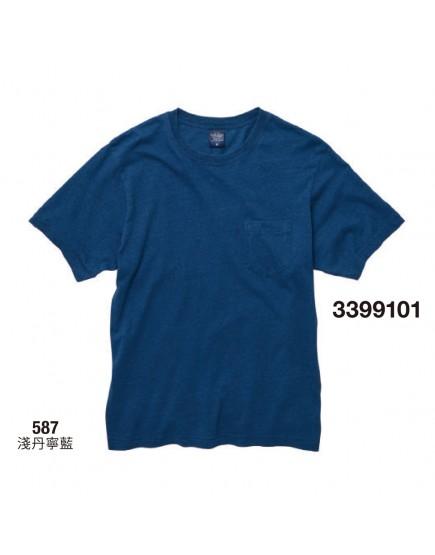 日本品牌-丹寧風口袋T恤-2色