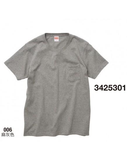 | 日本品牌 | 頂級重磅口袋T恤 - 4色