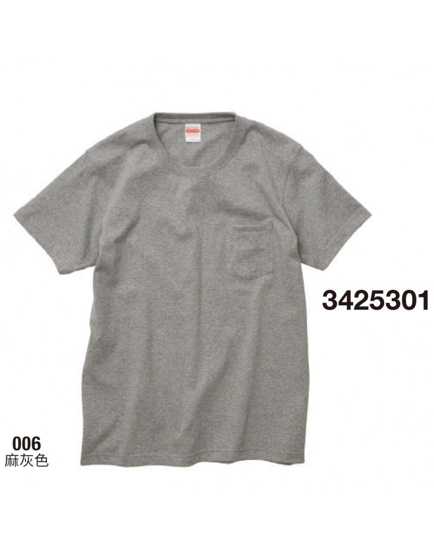 日本品牌│頂級重磅口袋T恤│-4色