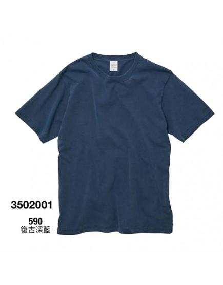 | 日本品牌 | 復古顏料染T恤 - 3色
