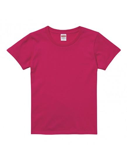 | 日本品牌 | 成人女版短袖頂級棉柔5.6OZT恤 - 共38色