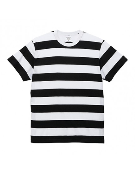 日本品牌-5.6oz橫條紋T恤
